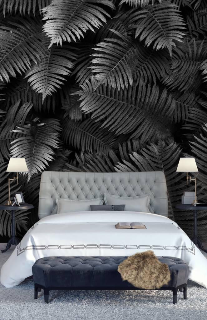 Bladeren - Grote palmbladeren - Woonkamer 5