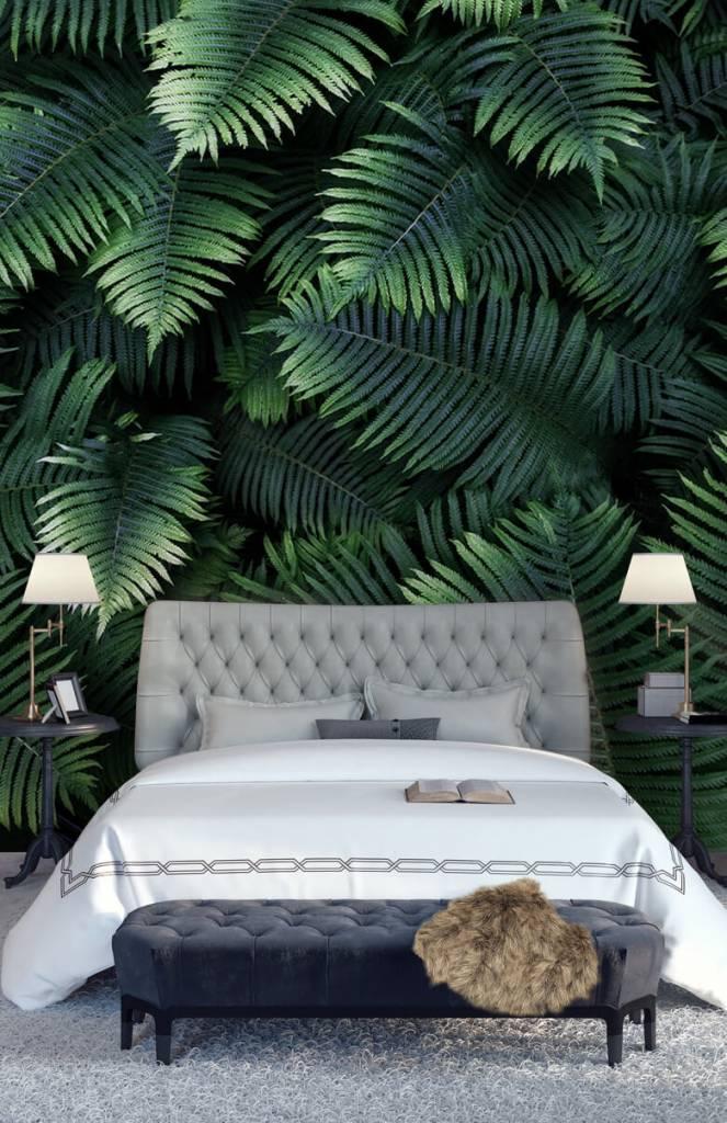 Bladeren - Grote palmbladeren - Woonkamer 7
