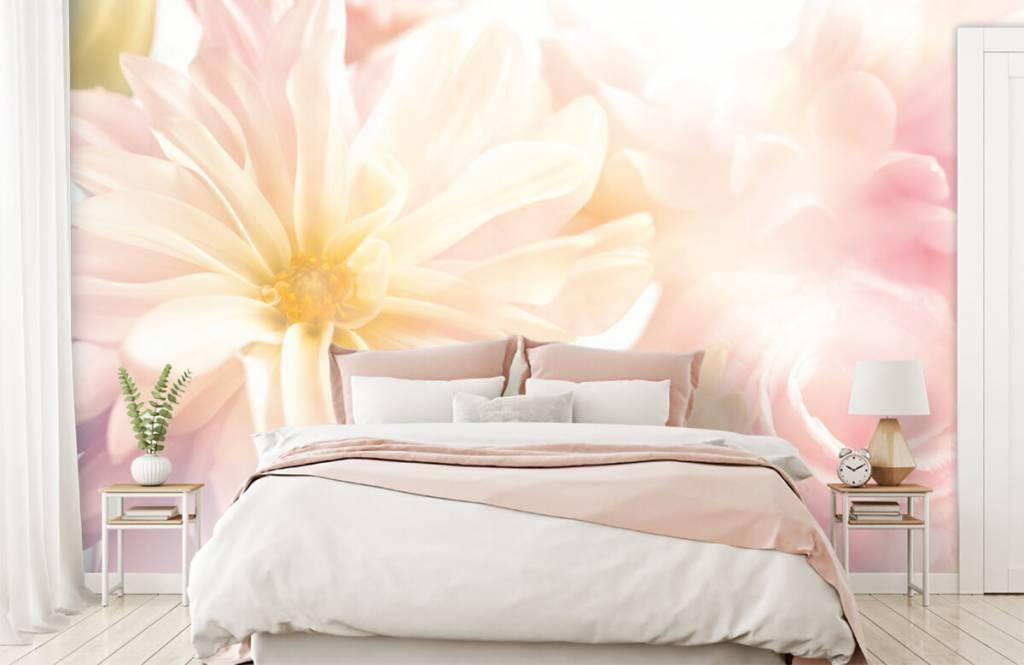 Bloemenvelden - Heldere bloemen - Slaapkamer 1