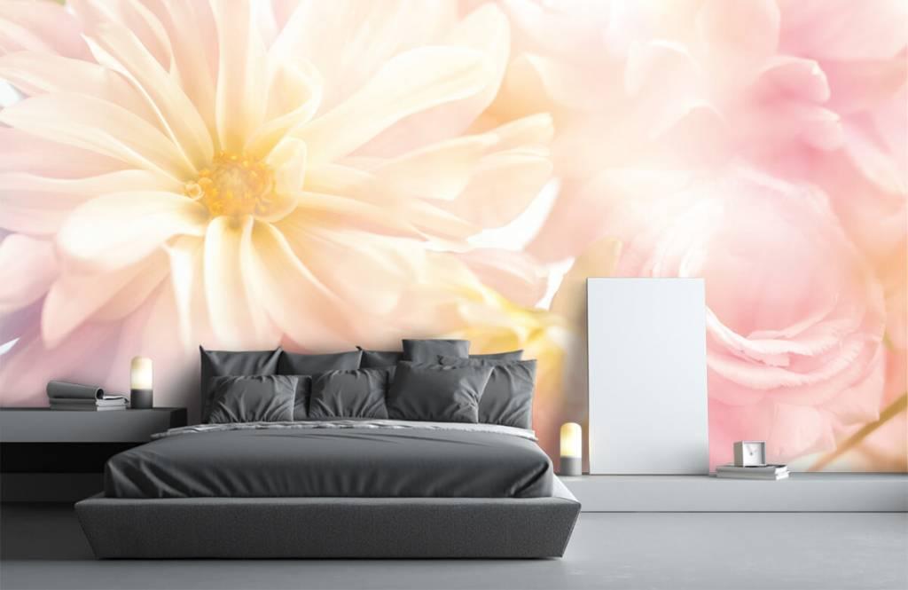 Bloemenvelden - Heldere bloemen - Slaapkamer 2