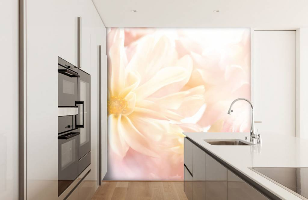 Fotobehang Heldere bloemen