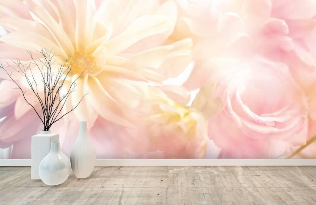Bloemenvelden - Heldere bloemen - Slaapkamer 8