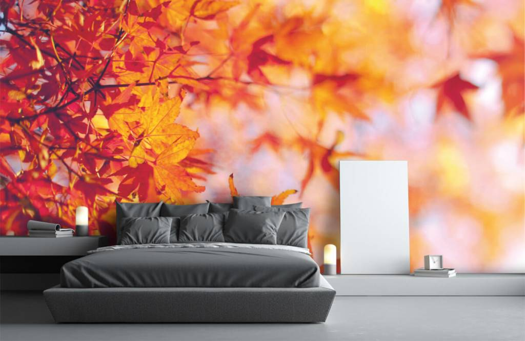 Bladeren - Herfstbladeren - Slaapkamer 2