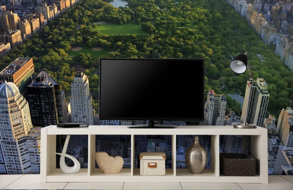 Steden behang - Central Park - Slaapkamer 6