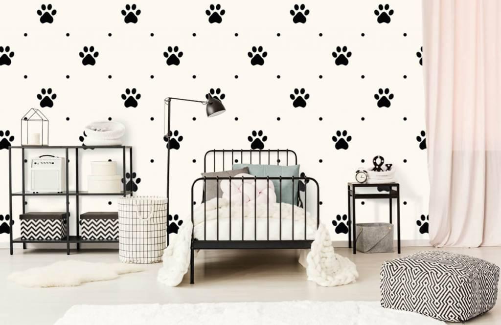 Overige - Hondenpootjes - Kinderkamer 2
