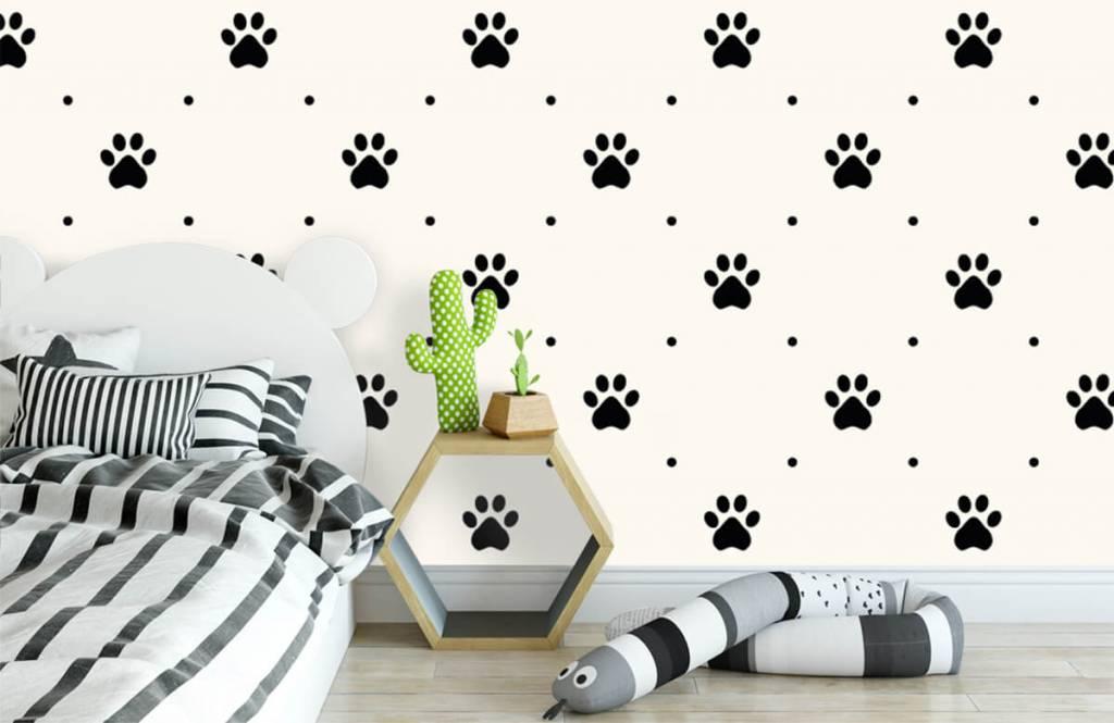 Overige - Hondenpootjes - Kinderkamer 3