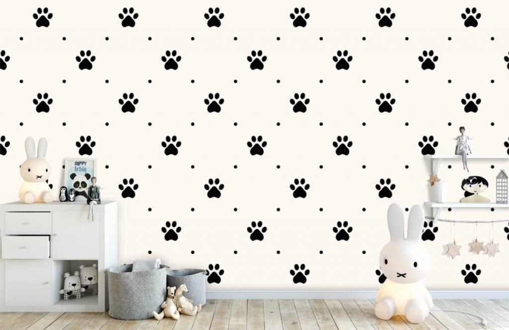 Overige - Hondenpootjes - Kinderkamer 4