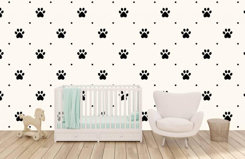 Overige - Hondenpootjes - Kinderkamer 5
