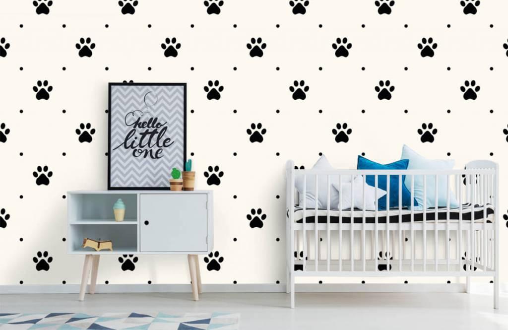 Overige - Hondenpootjes - Kinderkamer 6