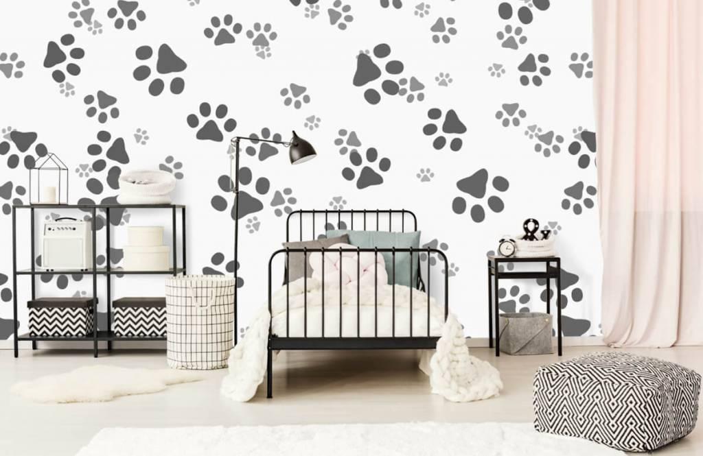 Kinderbehang - Hondenpoten - Kinderkamer 2