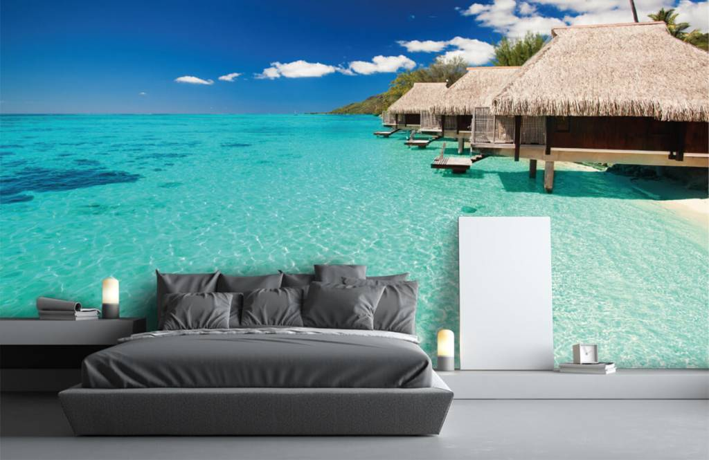 Stranden - Huisjes op de Malediven - Hobbykamer 4
