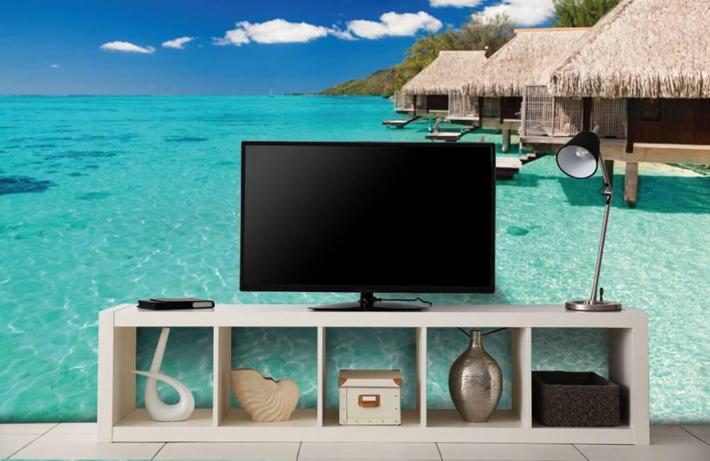 Stranden - Huisjes op de Malediven - Hobbykamer 6