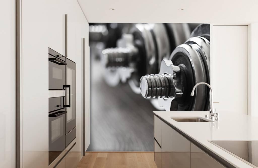 Fitness - Klassieke dumbells - Hobbykamer 6