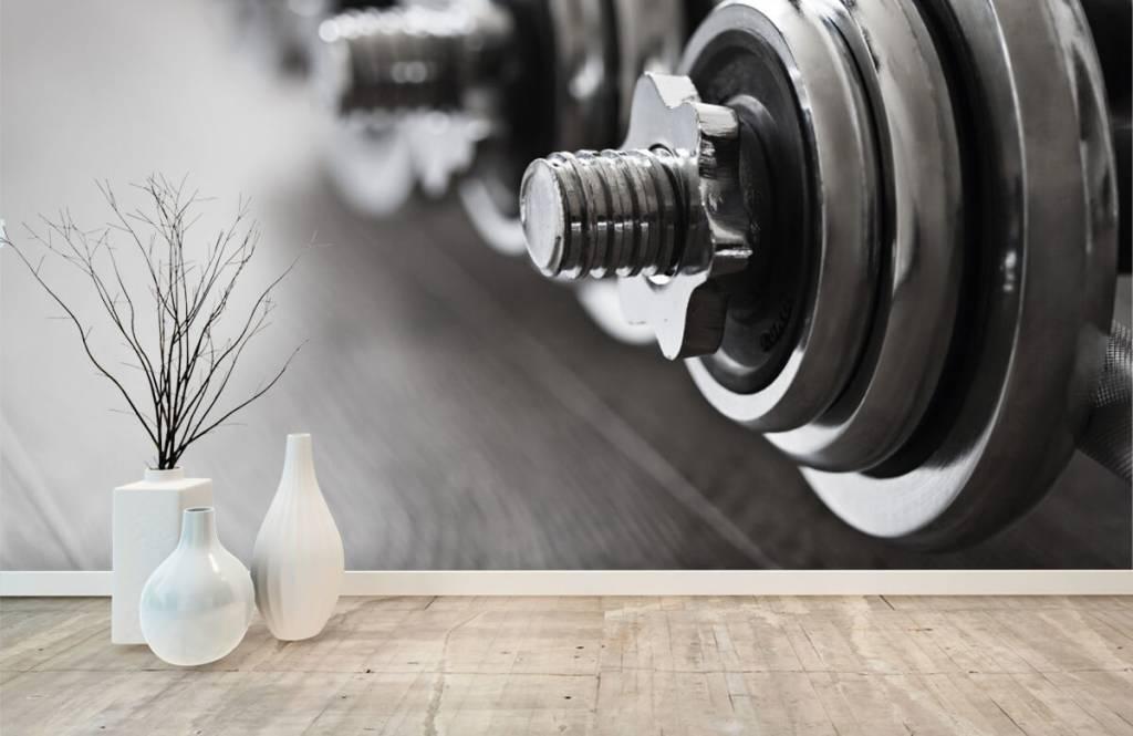 Fitness - Klassieke dumbells - Hobbykamer 9