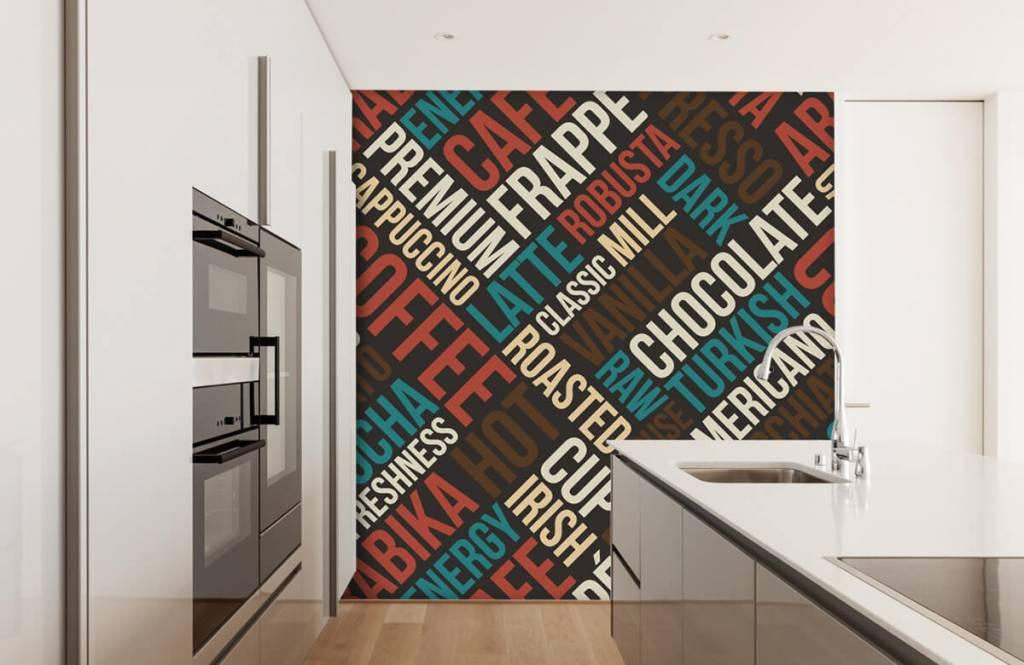 Overige - Koffie en chocolade tekst - Keuken 1