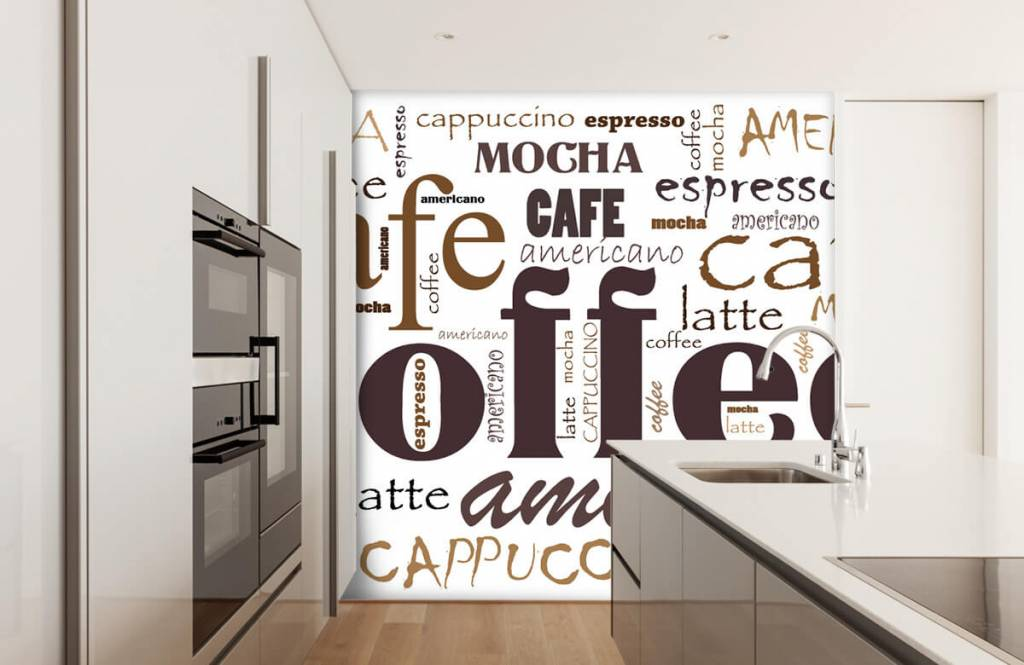 Overige - Koffie letters - Keuken 5