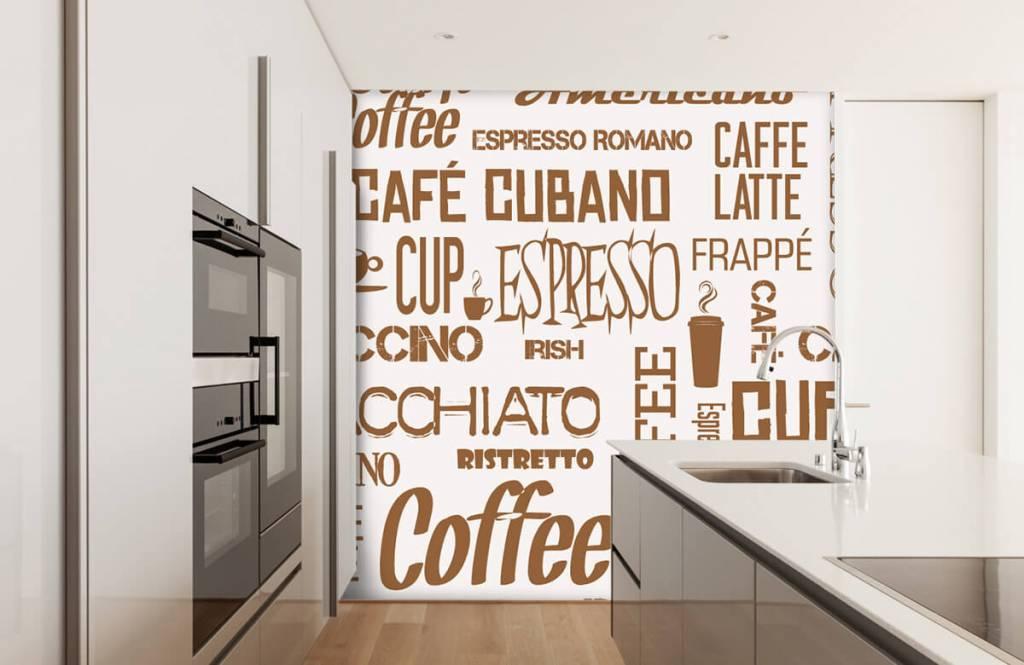 Overige - Koffie woorden - Keuken 1