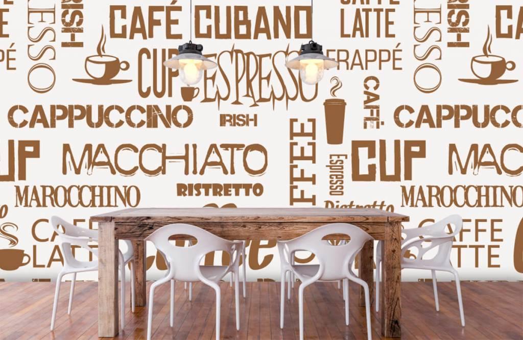 Overige - Koffie woorden - Keuken 2
