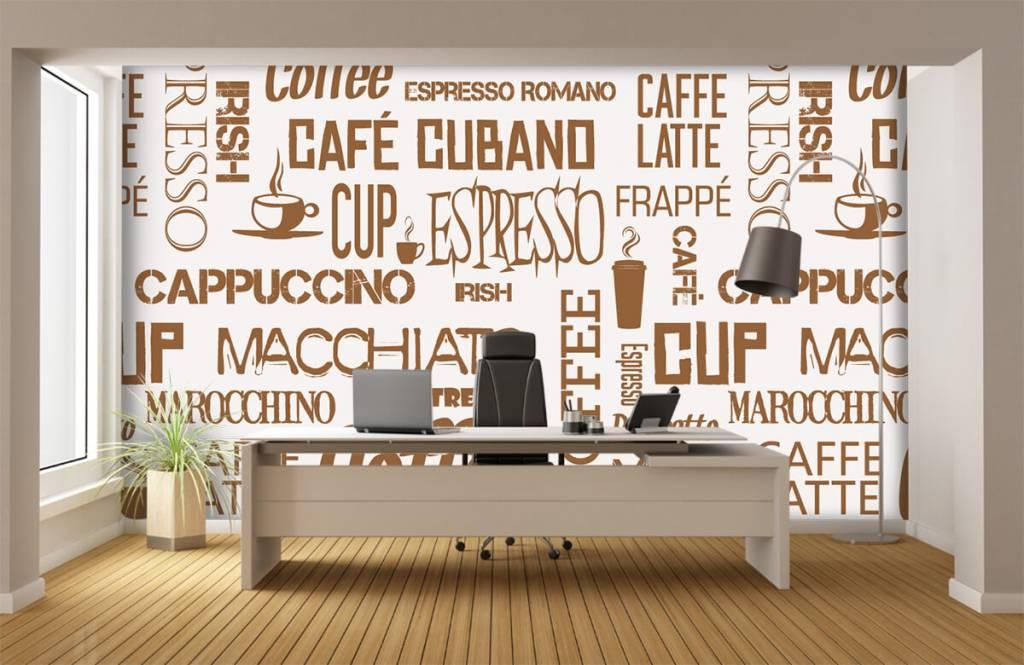 Overige - Koffie woorden - Keuken 5