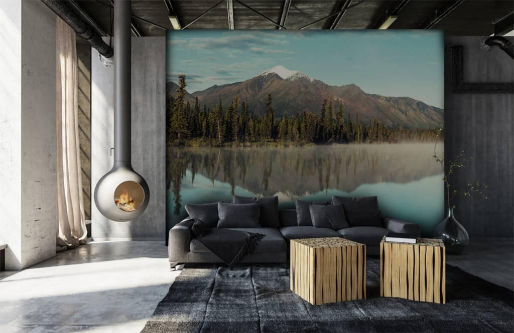 Bergen - Landschap in Alaska - Woonkamer 3