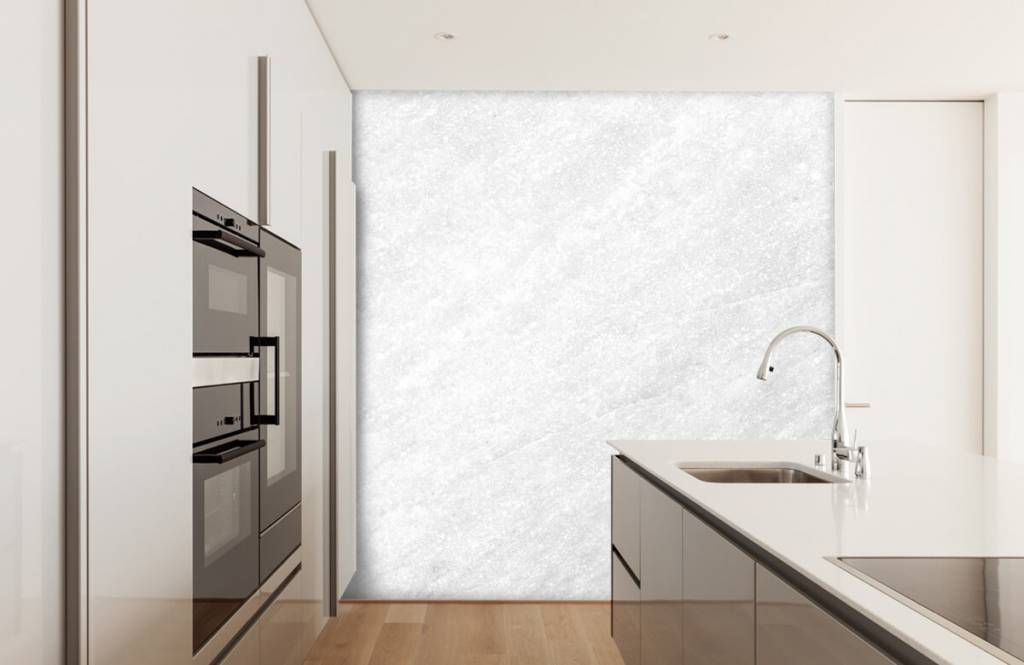 Steen behang - Licht marmer - Verkoopafdeling 3