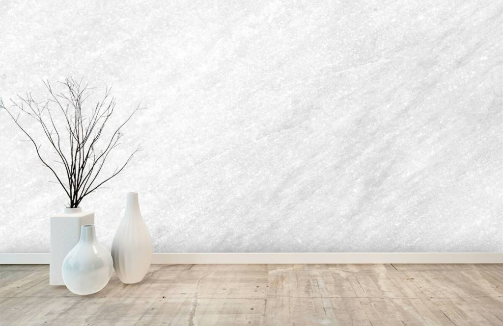 Steen behang - Licht marmer - Verkoopafdeling 8
