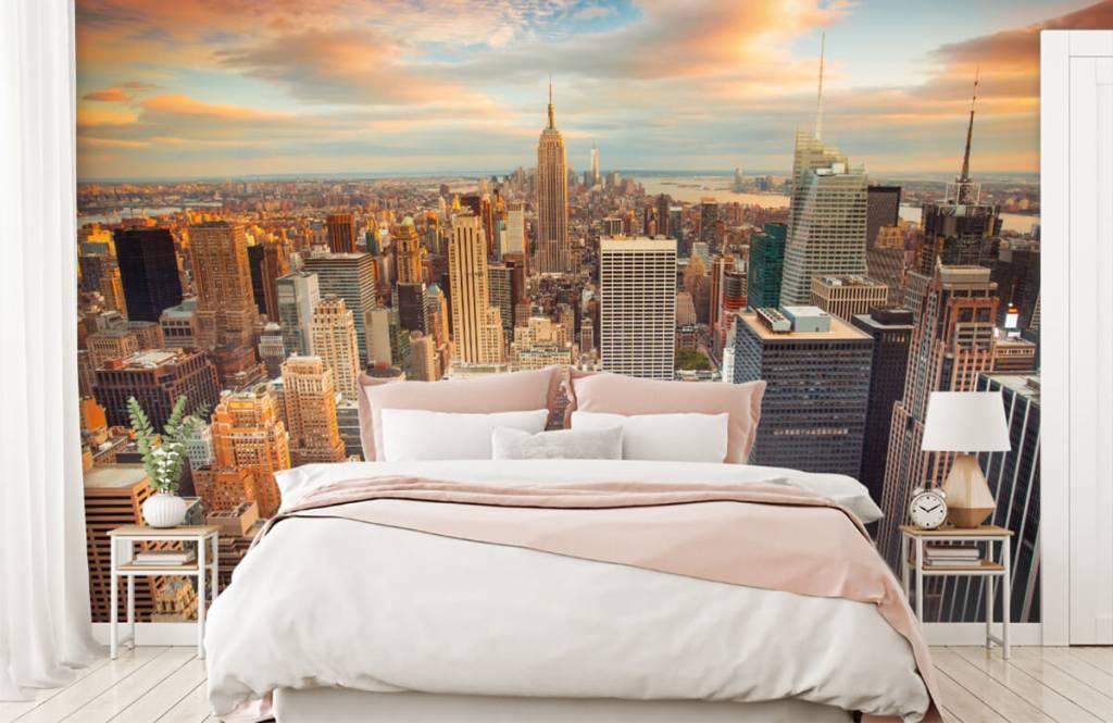 Steden behang - Manhattan - Tienerkamer 2