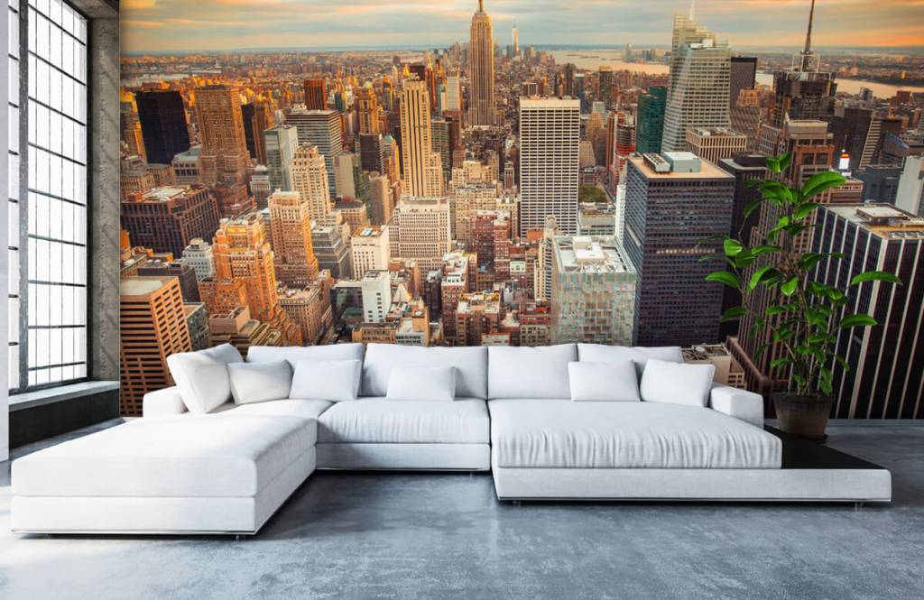 Steden behang - Manhattan - Tienerkamer 5
