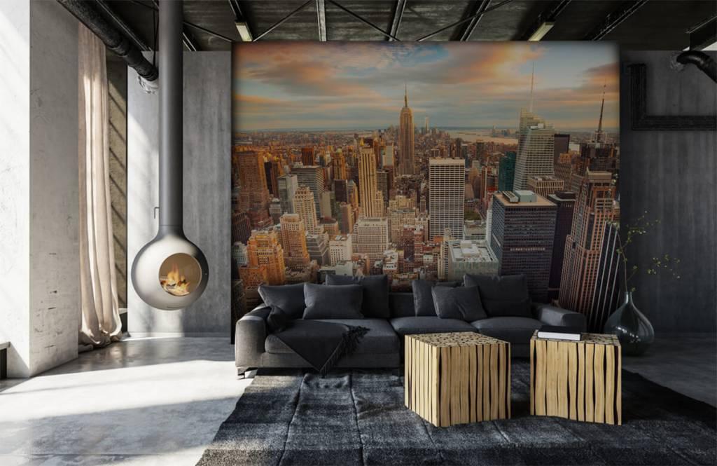 Steden behang - Manhattan - Tienerkamer 6