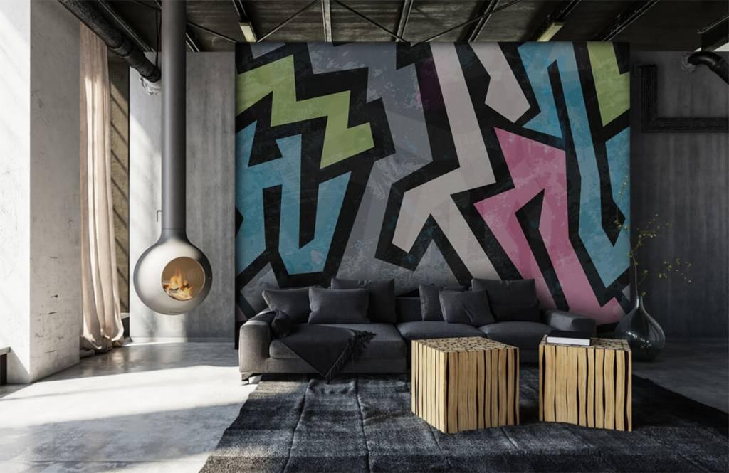 Graffiti - Moderne graffiti - Tienerkamer 1