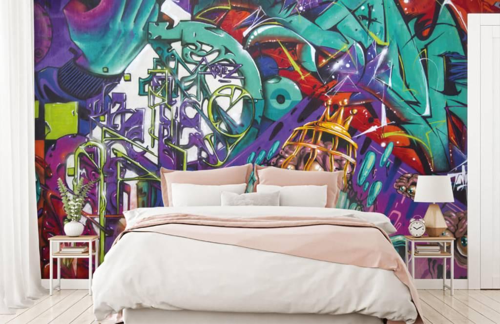 Graffiti - Moderne graffiti - Tienerkamer 2
