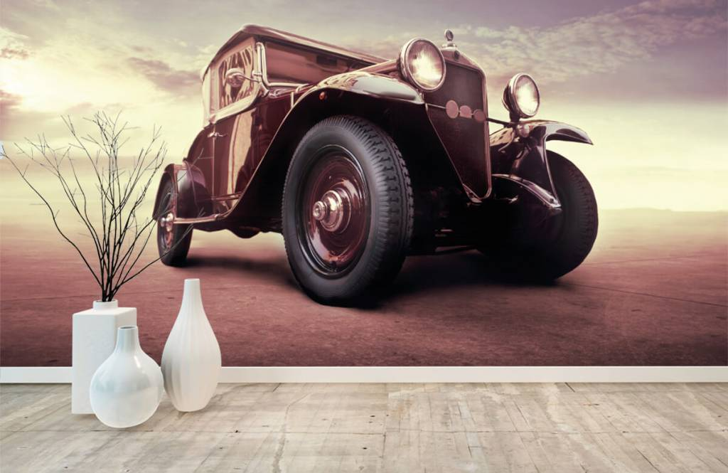 Transport - Oldtimer in perspectief - Tienerkamer 8