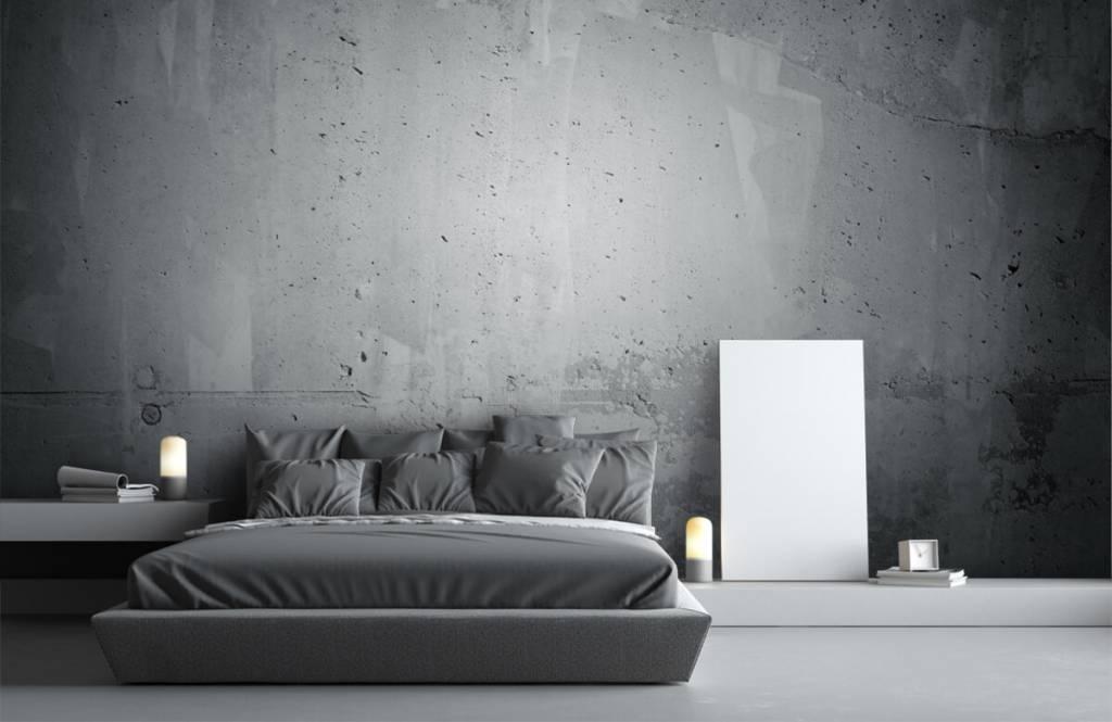 Betonlook behang - Ruw beton - Directie 1