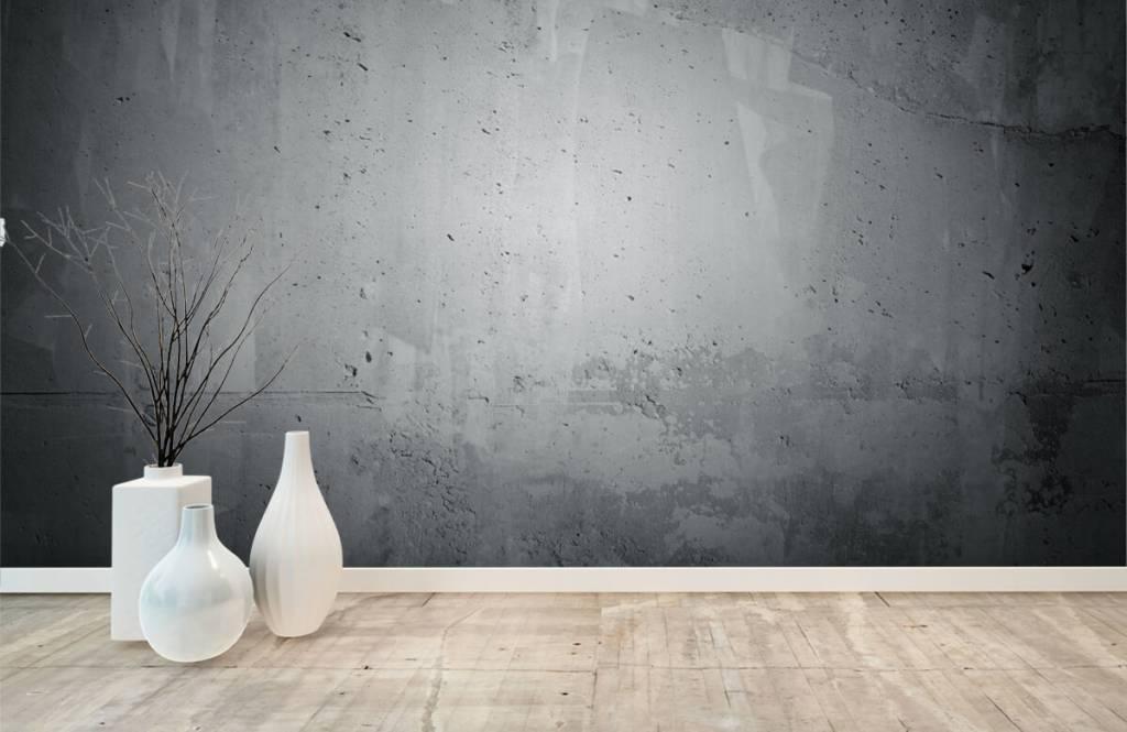 Betonlook behang - Ruw beton - Directie 8