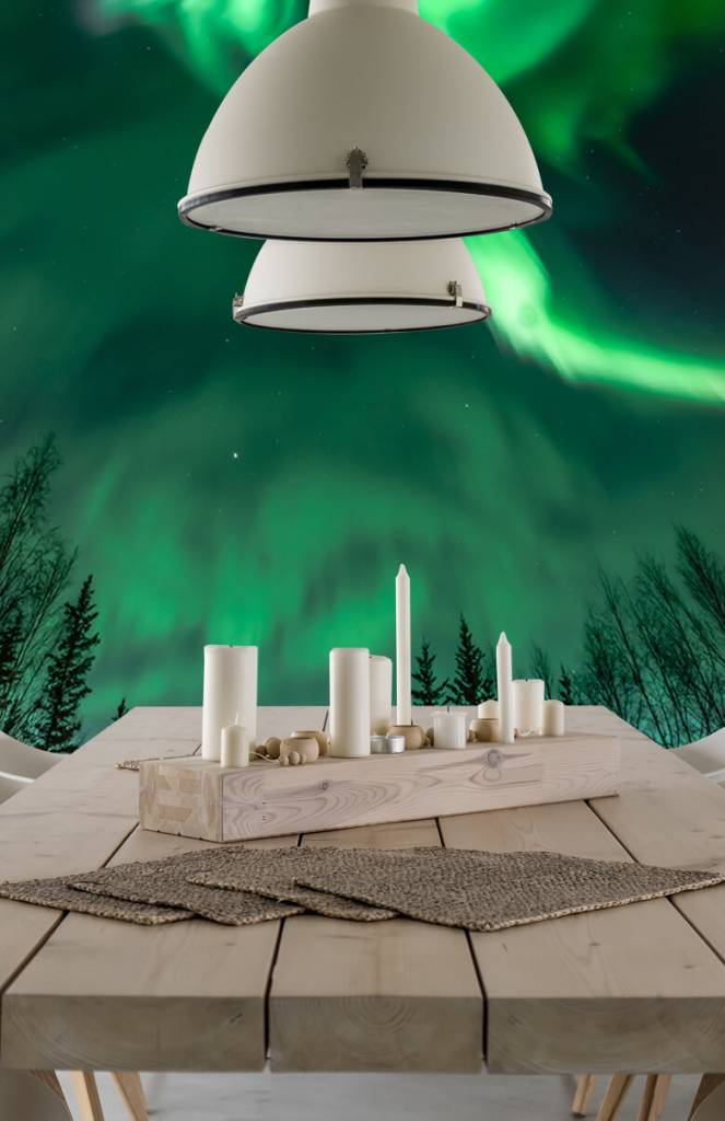 Noorderlicht - Spiraalvormig noorderlicht - Slaapkamer 3