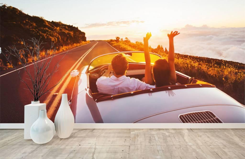 Transport - Sunset driving - Tienerkamer 1