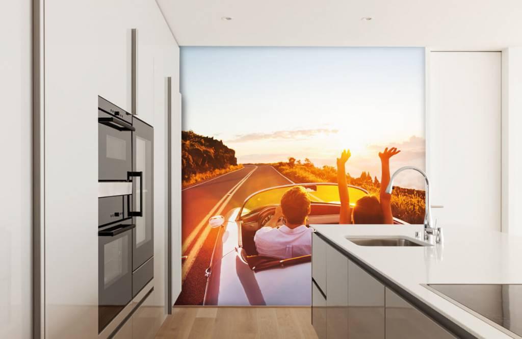 Transport - Sunset driving - Tienerkamer 4