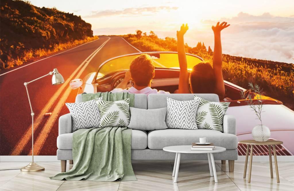 Transport - Sunset driving - Tienerkamer 8