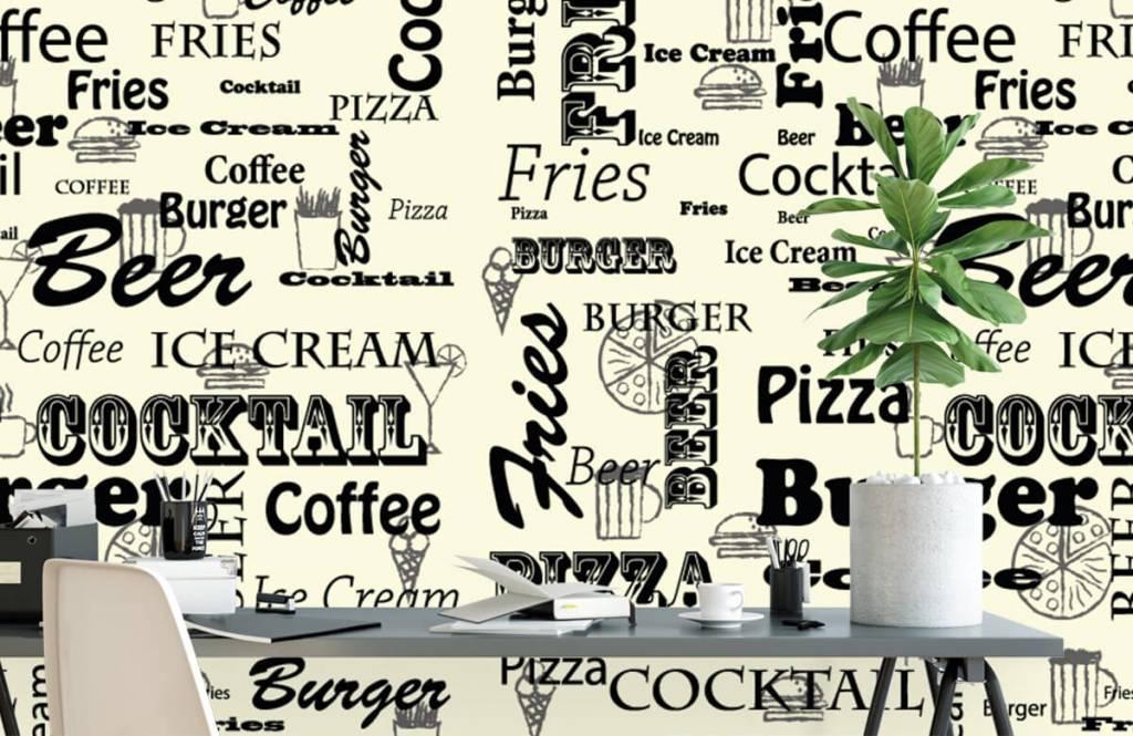 Overige - Teksten over snacks - Keuken 2