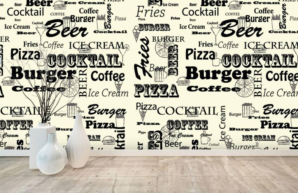 Overige - Teksten over snacks - Keuken 7
