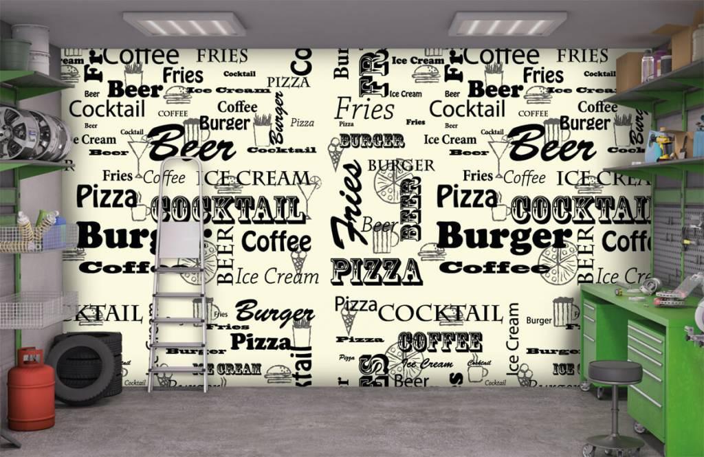 Overige - Teksten over snacks - Keuken 9