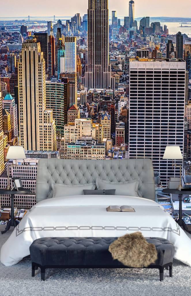 Steden behang - The Big Apple van bovenaf - Vergaderruimte 5