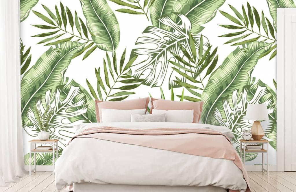 Jungle - Tropische bladeren - Showroom 2