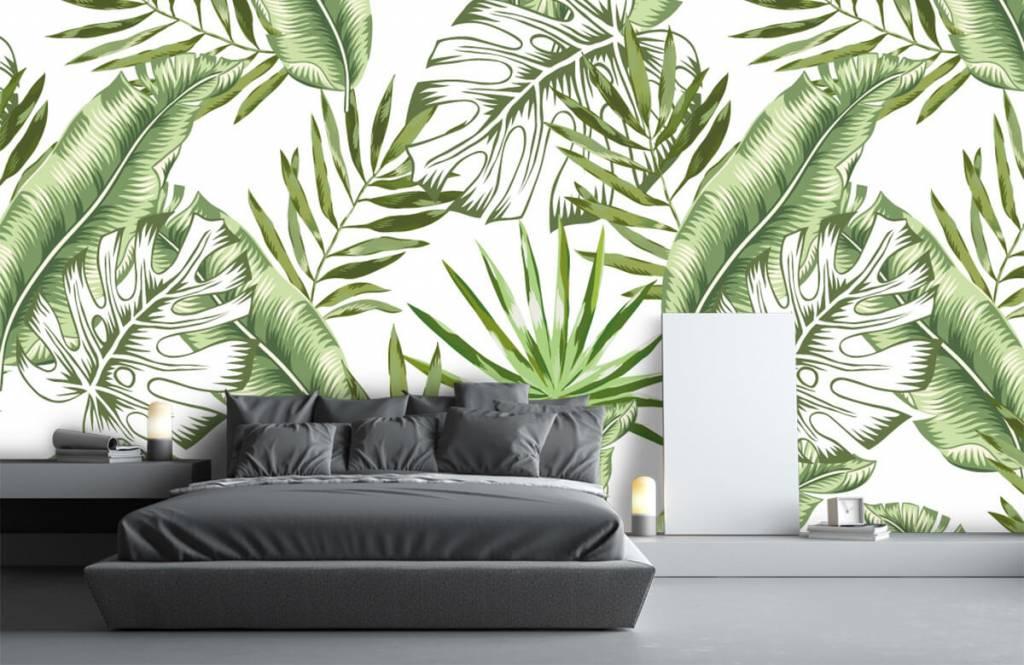 Jungle - Tropische bladeren - Showroom 3