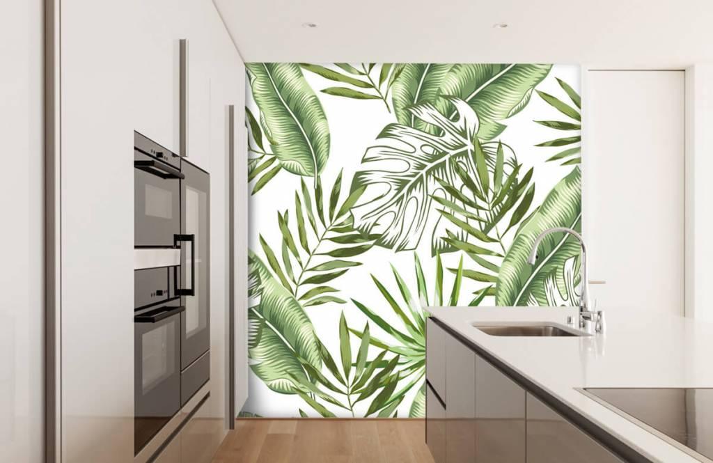 Jungle - Tropische bladeren - Showroom 4