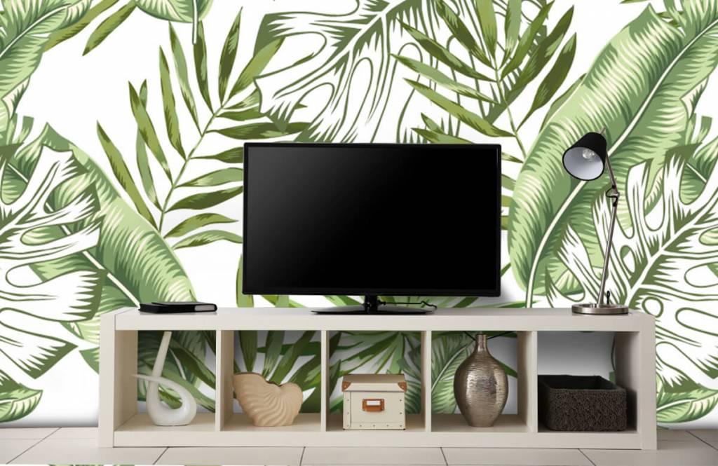 Jungle - Tropische bladeren - Showroom 5