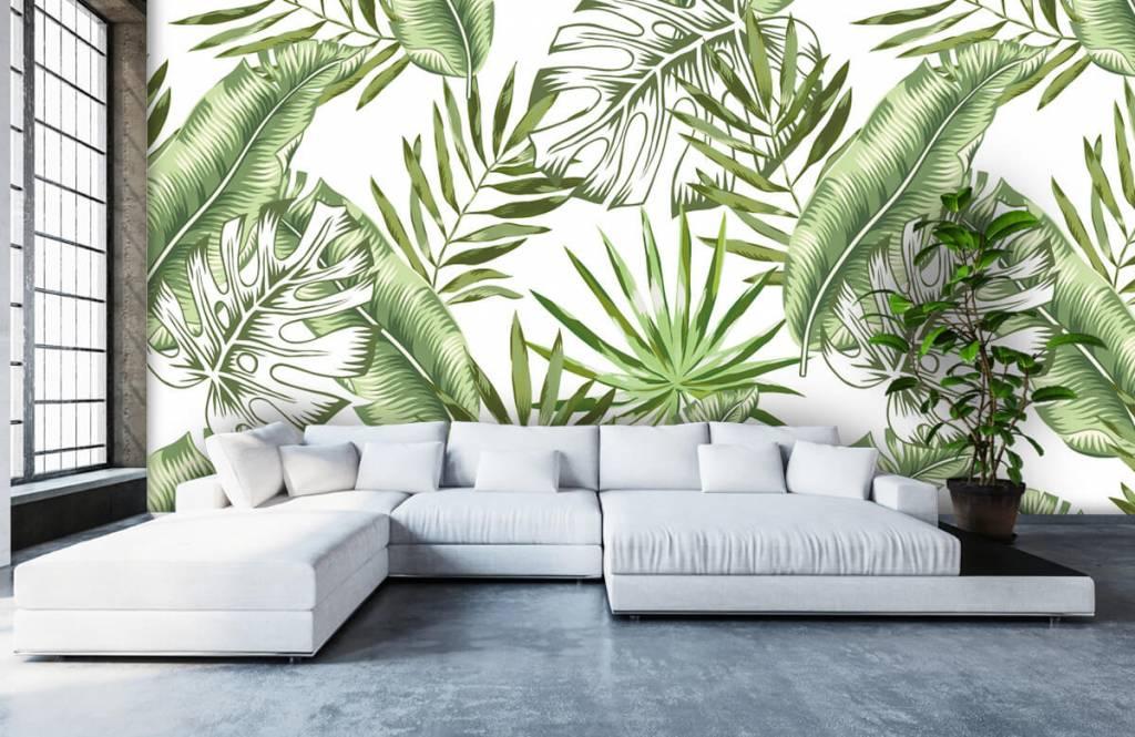 Jungle - Tropische bladeren - Showroom 6