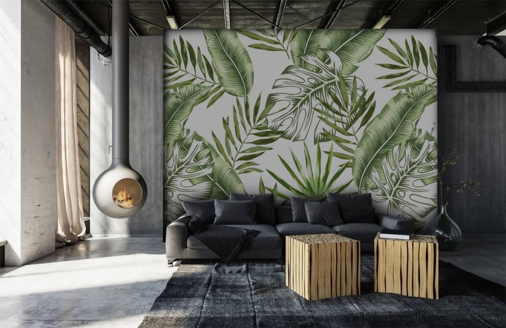 Jungle - Tropische bladeren - Showroom 7