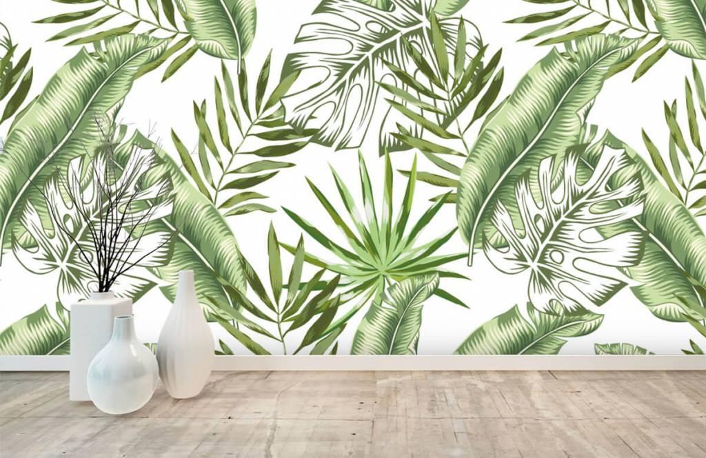 Jungle - Tropische bladeren - Showroom 8