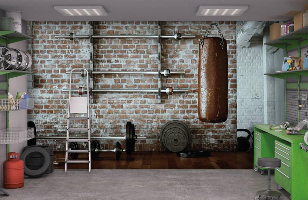 Fitness - Vintage sportschool items - Hobbykamer 1